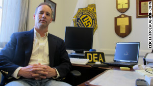 Wilmington DEA resident agent in charge Michael Franklin says he\'s increasingly seeing cartel-linked cases.