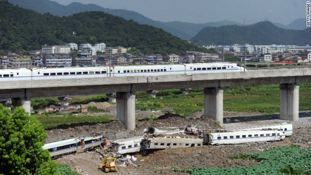 Poor management was blamed for the high speed collision in Wenzhou, Zhejiang Province in July 2011.