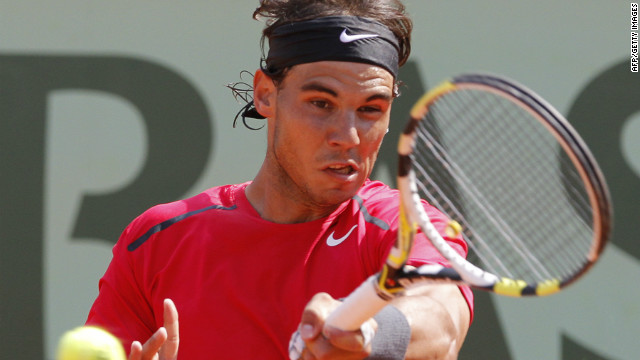 Rafael Nadal has only been beaten once at the French Open, by Sweden's Robin Soderling in 2009