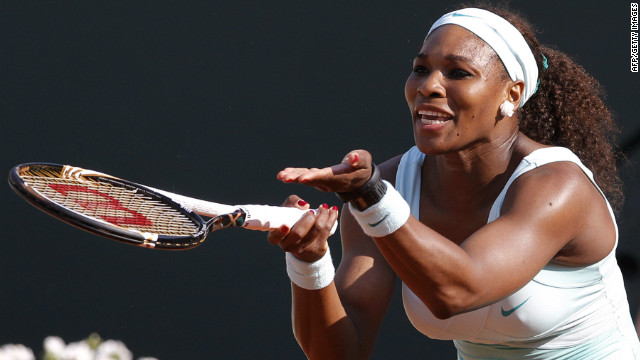 Serena Williams fell at the first hurdle in a grand slam tournament for the first time in her illustrious career