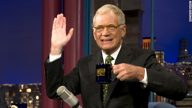 It's David Letterman's comedy world
