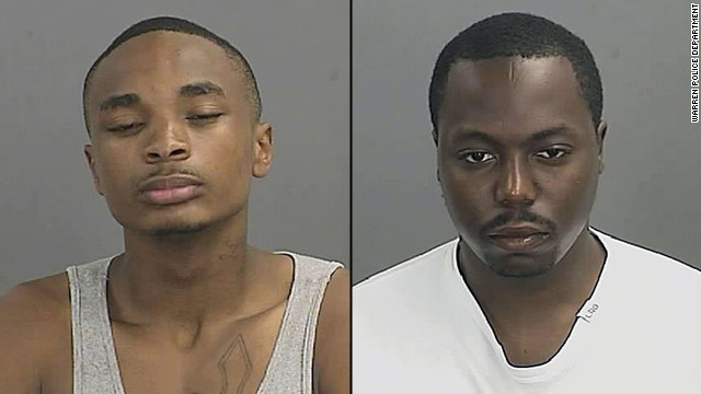 Antonio Valentine Mathis and Jamal Rashard Rogers are charged with attacking a pregnant Michigan woman.
