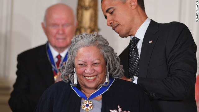 "Toni Morrison was the first African-American woman to win the Nobel Prize. Among her most famous works are ""Song of Solomon,"" ""Jazz"" and ""Beloved."""
