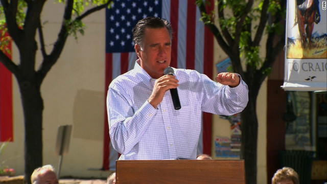 Mitt Romney, speaking Tuesday in Craig, Colorado, chose not to stay and fight in Massachusetts, says John Avlon.