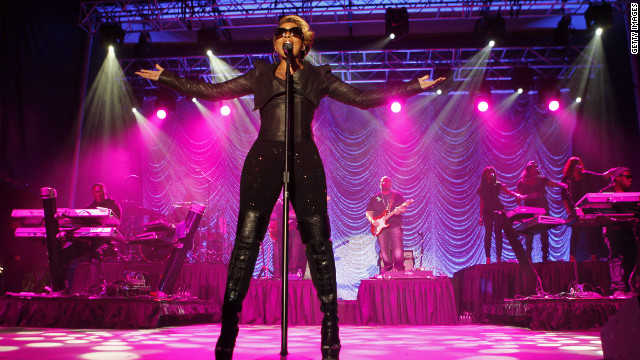 Mary J. Blige, rock goddess?