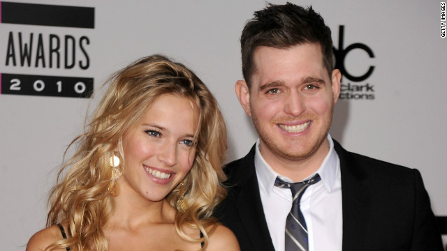 How Michael Buble and wife keep romance alive