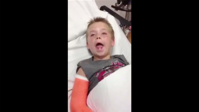 Gotta Watch: Kid feels dizzy, hilarity ensues