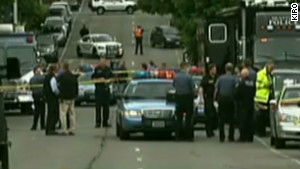 Police investigated the fatal shooting Wednesday at a Seattle cafe.