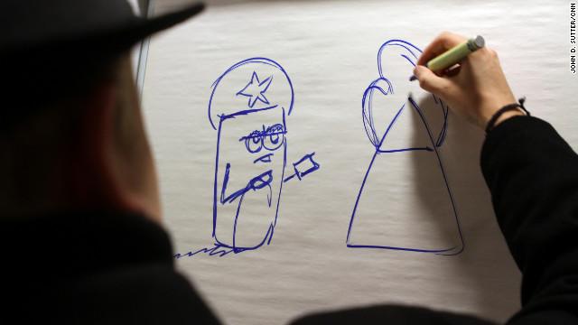 Tuomas Erikoinen drew