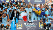 Manchester City\'s big spending paid off with the club\'s first English title in 44 years.