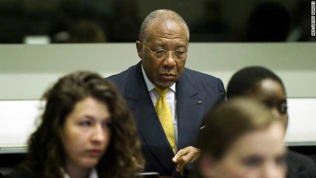 Who is former Liberian president Charles Taylor?