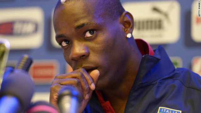 Italy's preparations for Euro 2012 might have been hit by a recent match-fixing investigation, but in striker Mario Balotelli, who has been handed the No. 9 shirt, the Azzurri have a player who could, if he's in the right mood, be the star of the tournament.
