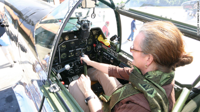 Looking for a really hands-on aviation thrill? Fantasy of Flight in Polk City, Florida, about 45 minutes southwest of Orlando, offers daredevils a chance to take the stick and fly a vintage <a href='http://www.fantasyofflight.com/boeing_stearman.html' target='_blank'>Boeing Stearman PT-17</a>. For the less ambitious, visitors can enjoy simply sitting in <a href='http://www.fantasyofflight.com/aircraftpages/p51c.htm' target='_blank'>the cockpit of a World War II-era P51C Mustang</a>.