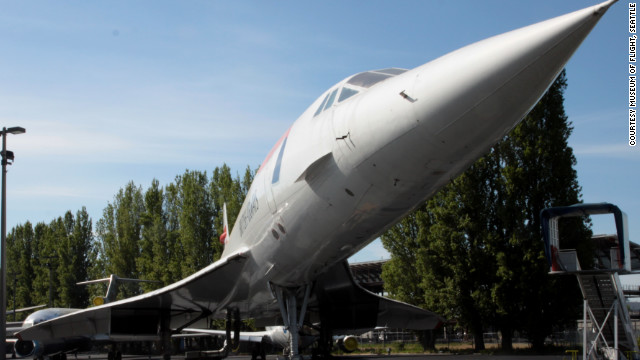 This aircraft ended an era in aviation history. It flew the final Concorde commercial flight, when the supersonic fleet was retired in 2003. While making its journey to the museum, the British Airways jet set a New York-to-Seattle speed record of 3 hours, 55 minutes, and 12 seconds, &lt;a href='http://www.museumofflight.org/concorde' target='_blank'&gt;the museum says&lt;/a&gt;.