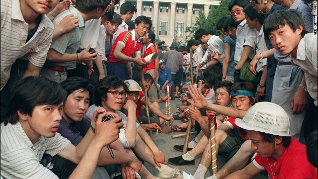 Tiananmen and the Chinese dream