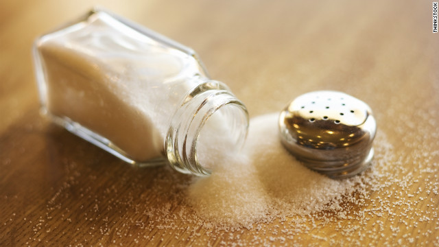 Toddler meals chock full of salt