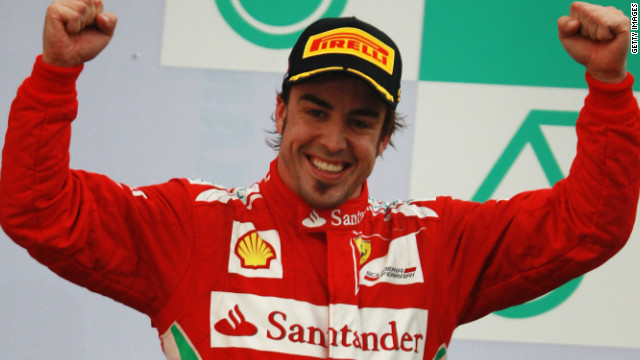 Two-time world champion Fernando Alonso overcame the early-season limitations of his Ferrari to win the rain-hit race in Malaysia in March.