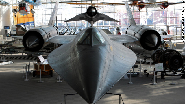 "Seattle's Museum of Flight boasts a Lockheed M-21 Blackbird, built to support a CIA spy program, it is ""the fastest and highest flying air-breathing production aircraft ever built,"" <a href='http://www.museumofflight.org/aircraft/lockheed-m-21-blackbird' target='_blank'>according to the museum</a>."