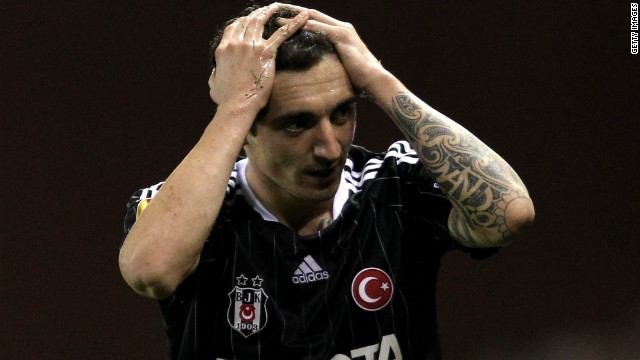 Besiktas reached trhe last 16 of the 2011-12 Europa League, losing to eventual champions Atletico Madrid.