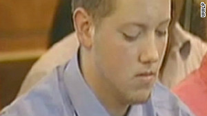 Aaron Deveau is on trial for texting while driving, resulting in in a crash that killed a 55-year-old man.