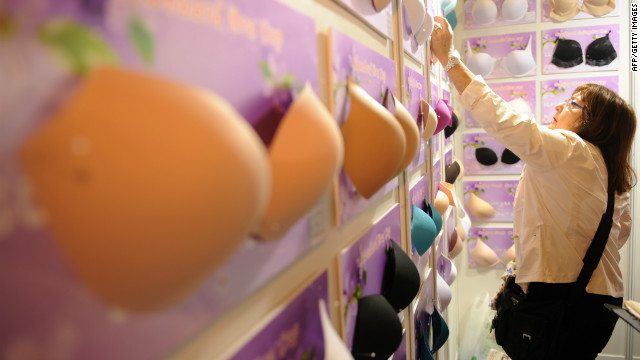 Una tienda usa algoritmos para ayudarte a encontrar el sostén perfecto