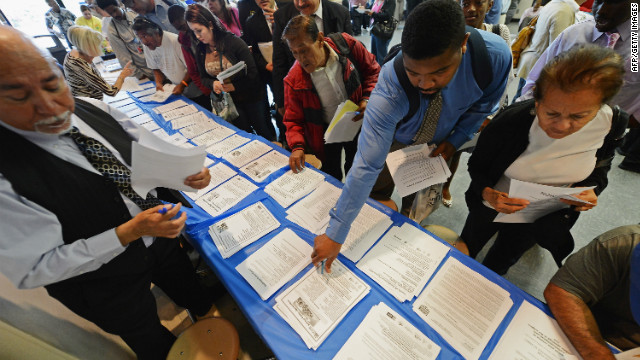 African-American jobless rate surges as overall unemployment rate holds