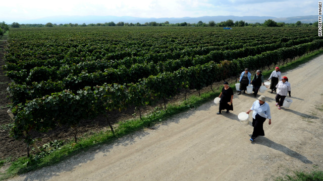 With over 500 endemic varieties of grapes, Georgia is one of the world's most diverse countries for types of wine.