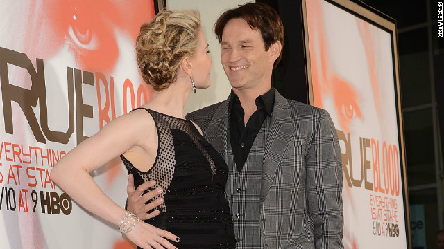 'True Blood' couple ready for 'bundle of fun'