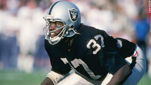 Lester Hayes played for the Oakland/Los Angeles Raiders from 1977-1986.