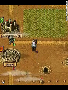 &quot;War Diary&quot; is a series of &quot;action-strategy games&quot; in which players build up armies and fight against each other.