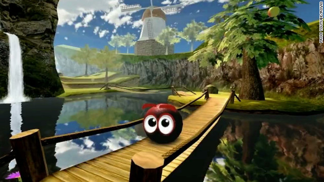 """Bounce Evolution"" let phone users roll a ball through 3-D environments. Rovio made 51 games before ""Angry Birds."""