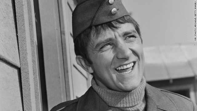 Richard Dawson played Cpl. Peter Newkirk in the comedy television series