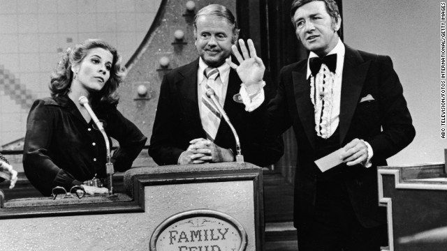 Dawson on an episode of &quot;Family Feud&quot; in April 1978. He hosted the popular game show from 1976 until 1985 and an additional season in 1994-95.