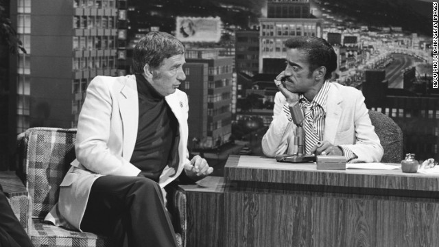 Dawson on &quot;the Tonight Show&quot; with guest host Sammy Davis Jr. in 1979.