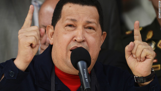 Globovision is Venezuela's last remaining television broadcaster that is openly critical of President Hugo Chavez, who is pictured here on June 22, 2012.