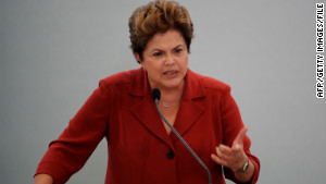 Now Brazil\'s president, Rousseff inaugurated a truth commission in May.