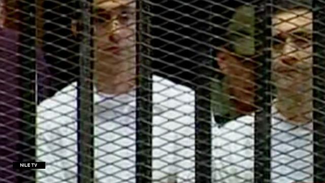 Los hijos de Mubarak, acusados de lavado de dinero