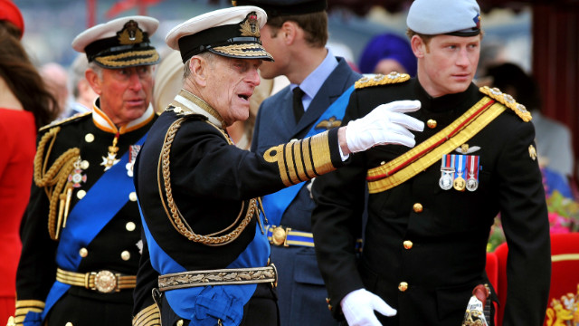 Britain's Prince Philip hospitalized