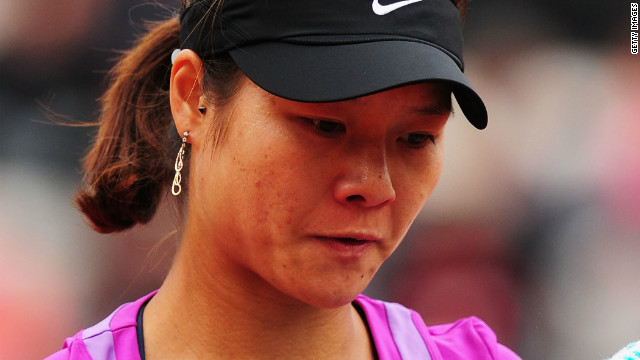 Li Na was disappointed after suffering a surprise defeat in the fourth round of the French Open against Yaroslava Shvedova of Kazakhstan.