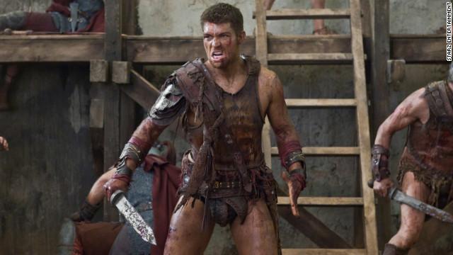 Liam McIntyre stars as Spartacus in