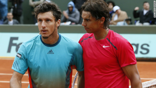 Nadal on course to meet Murray