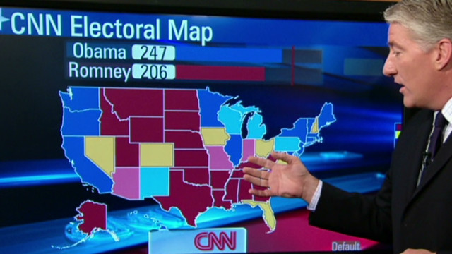 Cnnpoliticscom Home Of The Electoral Map And Election Roundtable - Us-elections-2016-live-map