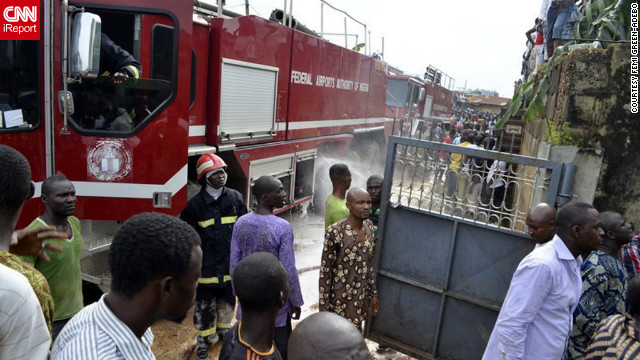 """It was so hot, we couldn't get close because of the fire,"" Green-Adebo said. ""I just kept thinking about the people, if there was anyone in there."""