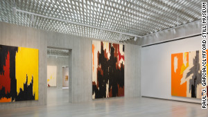 The Clyfford Still Museum opened in Denver last fall after selling four of Still\'s paintings to help finance construction. 