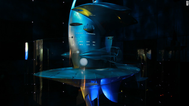 A 1:15 scale model of the SeaOrbiter is currently on display at Expo 2012 in Yeosu, South Korea. 