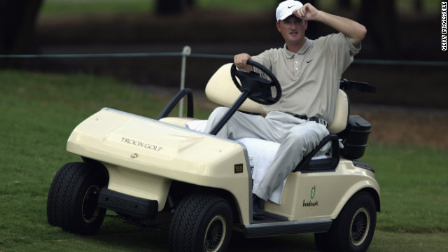 Disabled golfer Casey Martin earns spot in U.S. Open