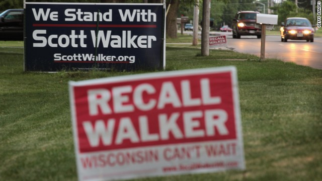 Dollars roll in from far beyond Wisconsin for recall - CNN.