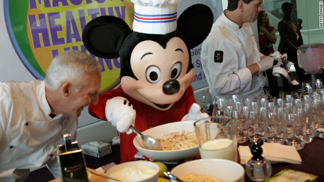 Disney to nix junk food ads aimed at kids