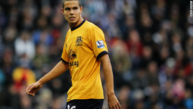 Everton's England international midfielder Jack Rodwell has suffered six hamstring injuries this season.