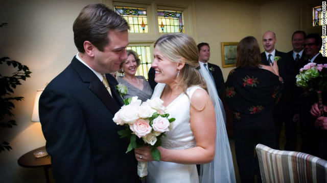 Tom and Ashley Wilmes took a romantic trip soon after they started dating. The risk worked out for them -- they married in 2006.